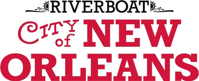 Riverboat CITY of NEW ORLEANS primary logo