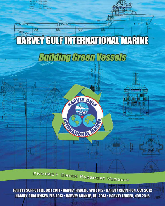 Harvey Gulf brochure cover